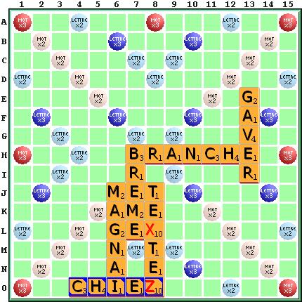 Ortograf En 20 Mots De 5 Lettres Scrabble